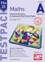 11+ Maths Year 5-7 Testpack A Papers 5-8: Numerical Reasoning GL Assessment Style Practice Papers (Paperback)
