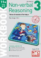 11+ Non-verbal Reasoning Year 5-7 Workbook 3: Three-dimensional Rotation