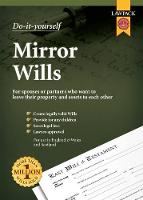 Do-it-Yourself Mirror Wills: For spouses or partners who want to leave their property and assets to each other