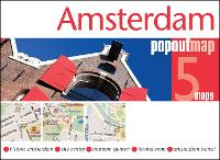 Amsterdam PopOut Map - PopOut Maps (Sheet map, folded)