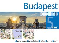 Budapest PopOut Map - PopOut Maps (Sheet map, folded)