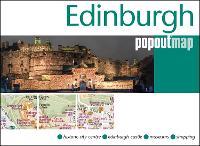 Edinburgh PopOut Map - PopOut Maps (Sheet map, folded)