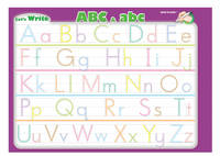 Let's Write ABC & abc: Large Write and Wipe