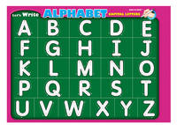Let's Write Alphabet Capital Letters: Large Write and Wipe