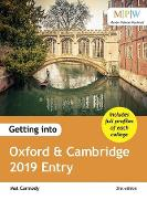 Getting into Oxford & Cambridge 2019 Entry