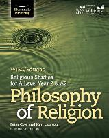 WJEC/Eduqas Religious Studies for A Level Year 2 & A2 - Philosophy of Religion (Paperback)