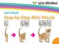 Step-by-Step Mini Words