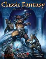 Classic Fantasy: Dungeoneering Rules for Percentile Roleplaying (Hardback)