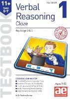 11+ Verbal Reasoning Year 5-7 Cloze Testbook 1 (Paperback)