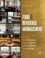 Food and Beverage Management: For the hospitality, tourism and event industries (Hardback)