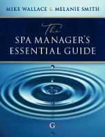 The Spa Manager's Essential Guide (Paperback)