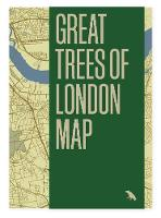 Great Trees of London Map - Great Trees Maps by Blue Crow Media 1 (Sheet map, folded)