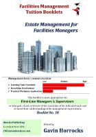 Understanding the Estate Management Function for Facilities Managers: Estate Management for Facilities Managers - One of a series of books for the FM industry (Paperback)