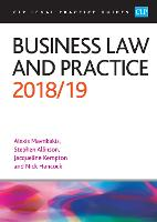 Business Law and Practice 2018/2019
