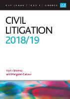 Civil Litigation 2018/2019