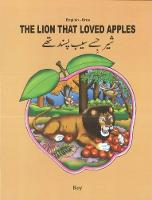 The Lion That Loved Apples: English-Urdu 2018 (Paperback)