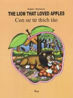 The Lion That Loved Apples: English-Vietnamese 2018 (Paperback)