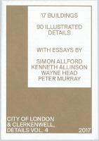 DETAILS VOL4 2018: 4: CITY OF LONDON AND CLERKENWELL - DETAILS