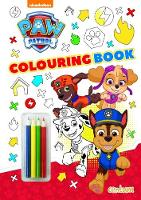 Paw Patrol - Colouring Book (Paperback)