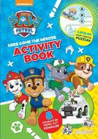 Paw Patrol Press-Out Activity Book (Paperback)