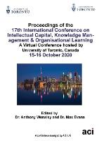 Proceedings of the17th International Conference on Intellectual Capital, Knowledge Management & Organisational Learning (Paperback)
