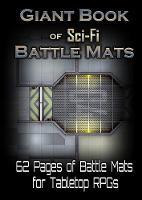 Giant Book of Sci-Fi Battle Mats (Paperback)