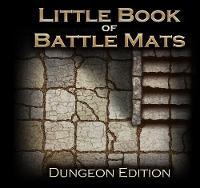 The Little Book of Battle Mats: Dungeon Edition (Hardback)
