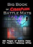 Big Book of CyberPunk Battle Mats (Paperback)