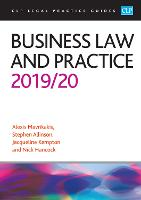 Business Law and Practice 2019/2020 - CLP Legal Practice Guides (Paperback)