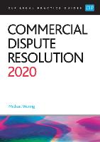 Commercial Dispute Resolution 2020