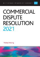 Commercial Dispute Resolution 2021