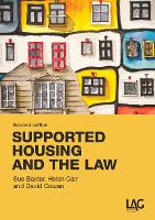 Supported Housing and the Law (Paperback)