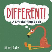 Different!: A Lift-the-Flap-Book - Different! and Worry! (Board book)