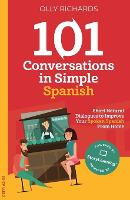 101 Conversations in Simple Spanish (Paperback)
