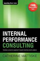 Internal Performance Consulting (Paperback)