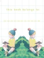 Bookplates - Retro Boys Reading