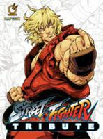 Street Fighter Tribute (Hardback)