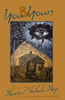 You and Yours - American Poets Continuum 93.00 (Paperback)