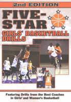 Five-Star Girls' Basketball Drills (Paperback)