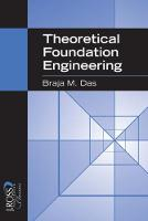 Theoretical Foundation Engineering (Paperback)