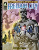 Mutants and Masterminds: Freedom City (Hardback)