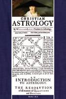 Christian Astrology, Books 1 & 2 (Paperback)