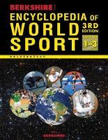 Berkshire Encyclopedia of World Sport, 3 Volume Set (Hardback)
