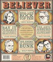 The Believer, Issue 56: September 2008 - Believer (Paperback)