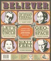 The Believer, Issue 59: January 2009 - Believer (Paperback)