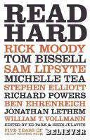 Read Hard: Best of the Believer (Paperback)