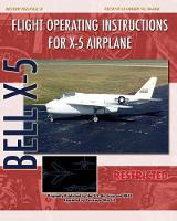 Flight Operating Instructions for X-5 Airplane (Paperback)