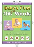 My 1st Tablet: Baby's First 100 Plus Words (Board book)
