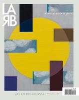 Los Angeles Review of Books Quarterly Journal: The Epistolary Issue: No. 21, Winter 2019 (Paperback)