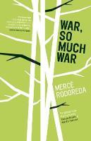 War, So Much War (Paperback)